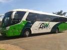 Frota de ônibus